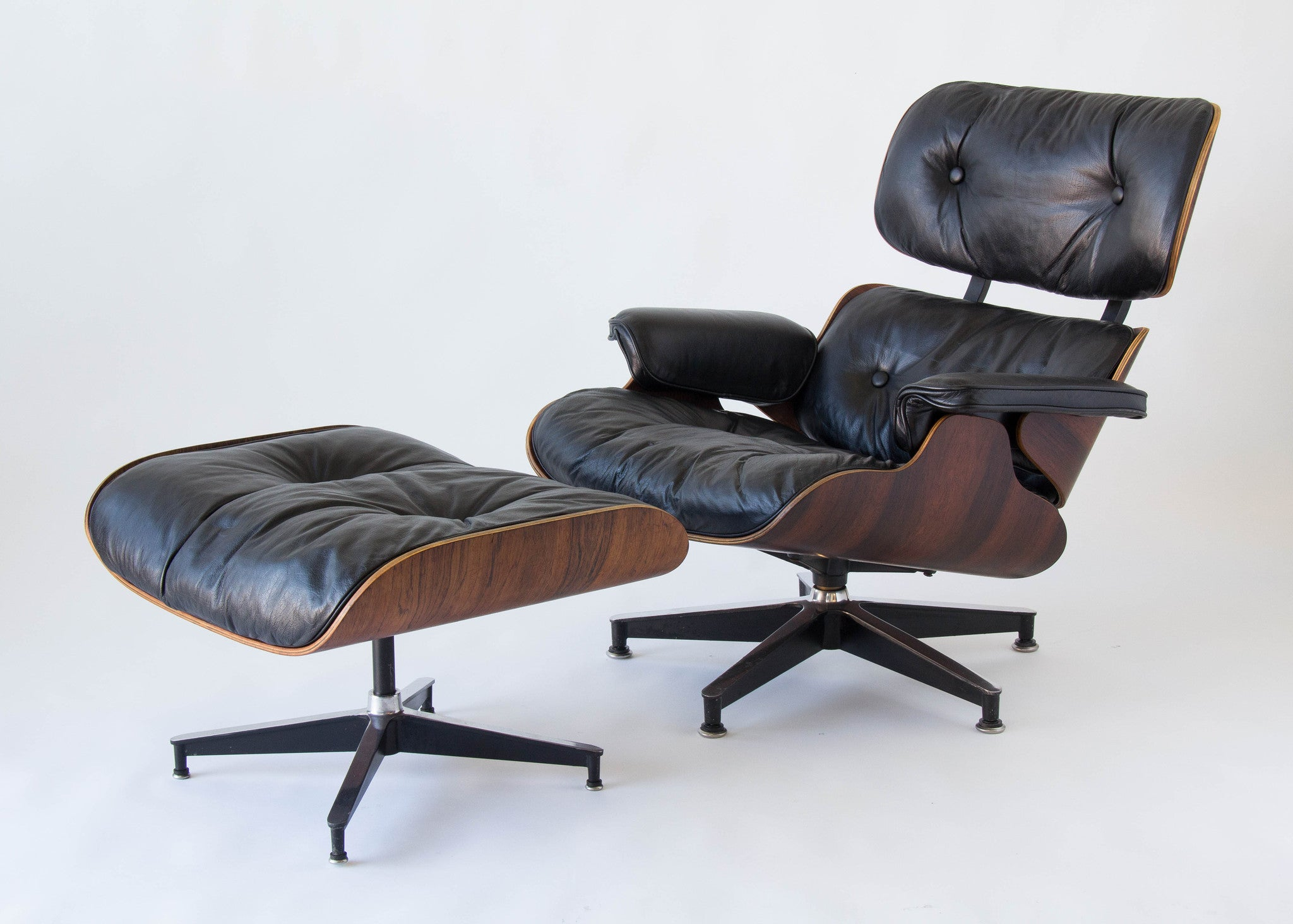 1960s Eames 670 671 Lounge Chair with Ottoman – Den M¸bler