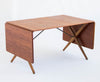 Hans J. Wegner Cross-Leg Dining Table by Andreas Tuck Model AT-309