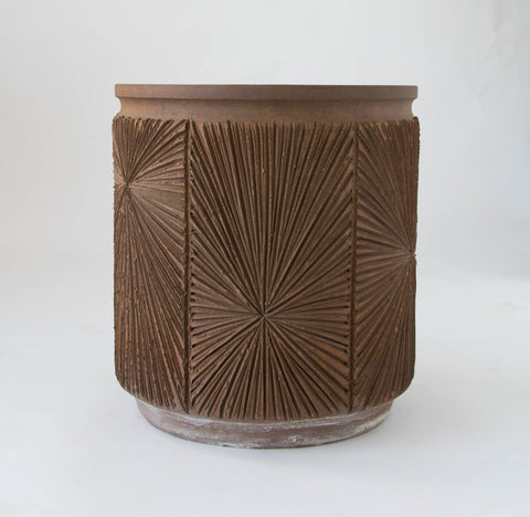 Robert Maxwell and David Cressey Earthgender Large Cylindrical Planter