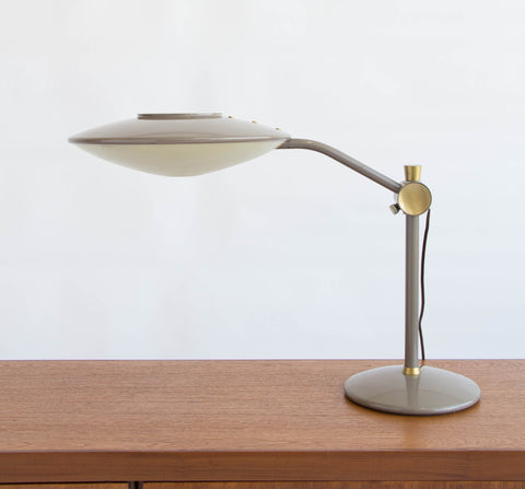 Dazor Model 2008 Saucer Desk Lamp