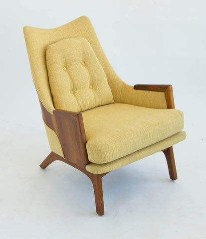 Adrian Pearsall Walnut Lounge Chair