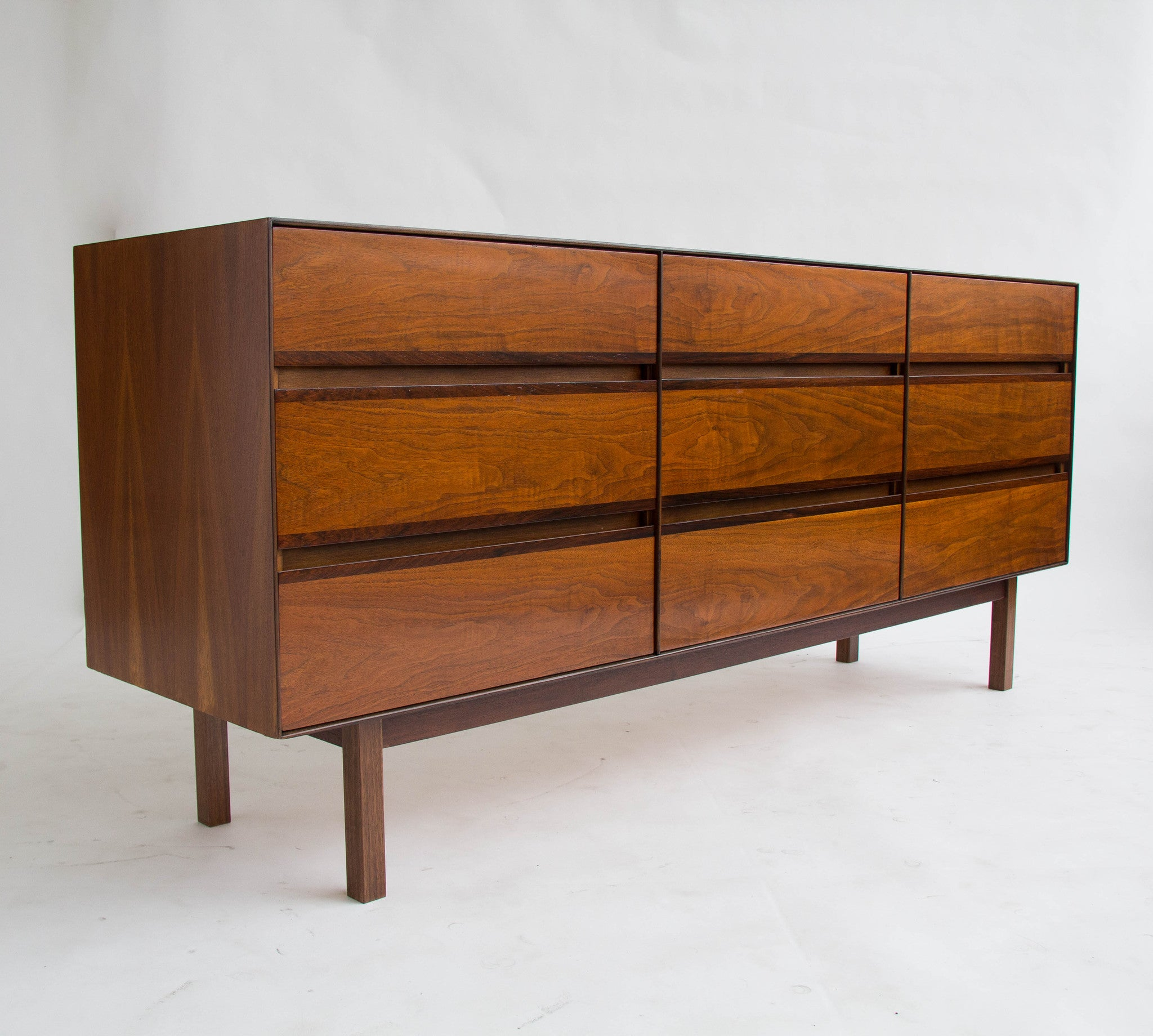 browning furniture. walnut and rosewood dresser by h paul browning for stanley furniture 8