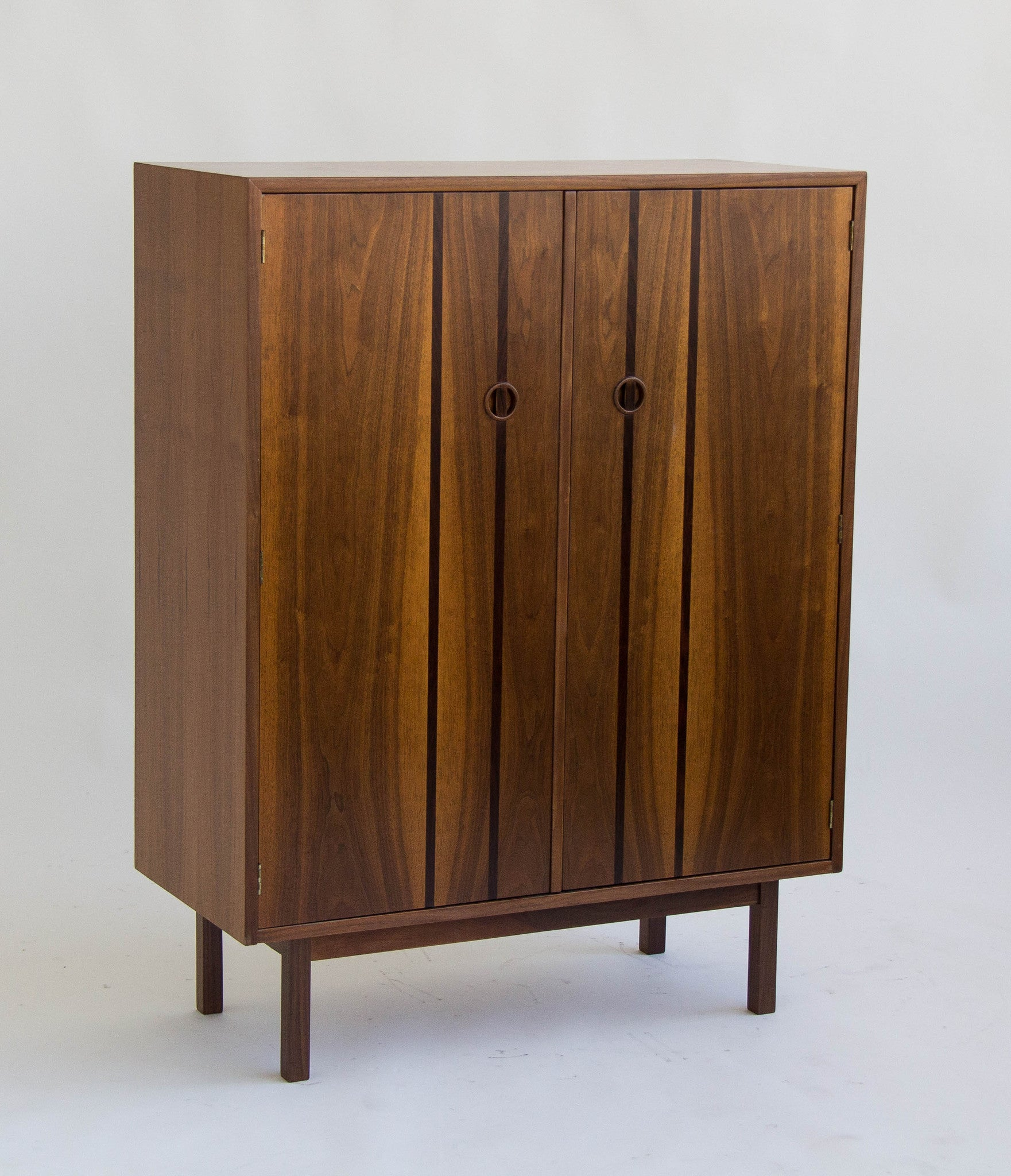 browning furniture. h paul browning for stanley furniture co walnut and rosewood highboy i