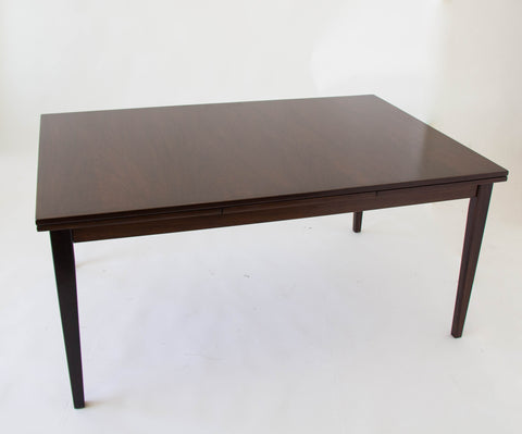 Rosewood Dining Table with Dutch Extension by Gudme