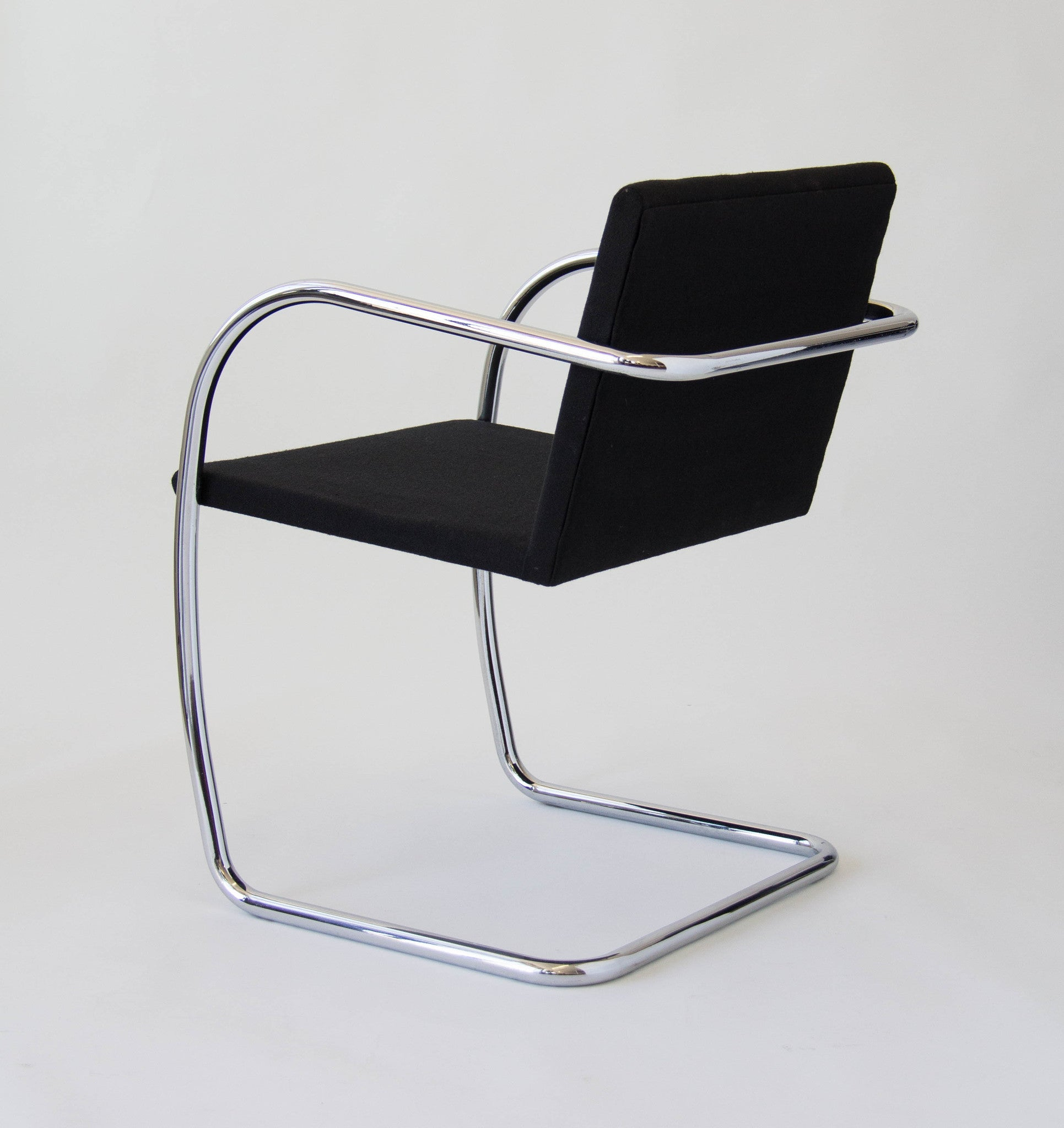 Tubular Brno Chairs by Mies van der Rohe for Knoll International