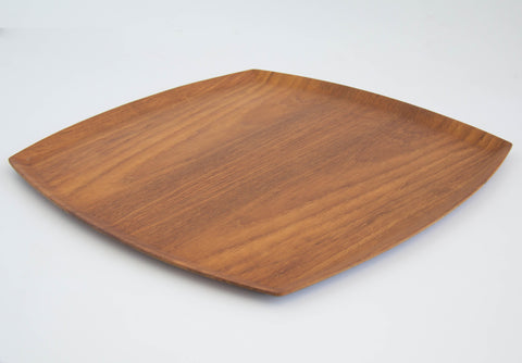 Molded Teak Serving Tray