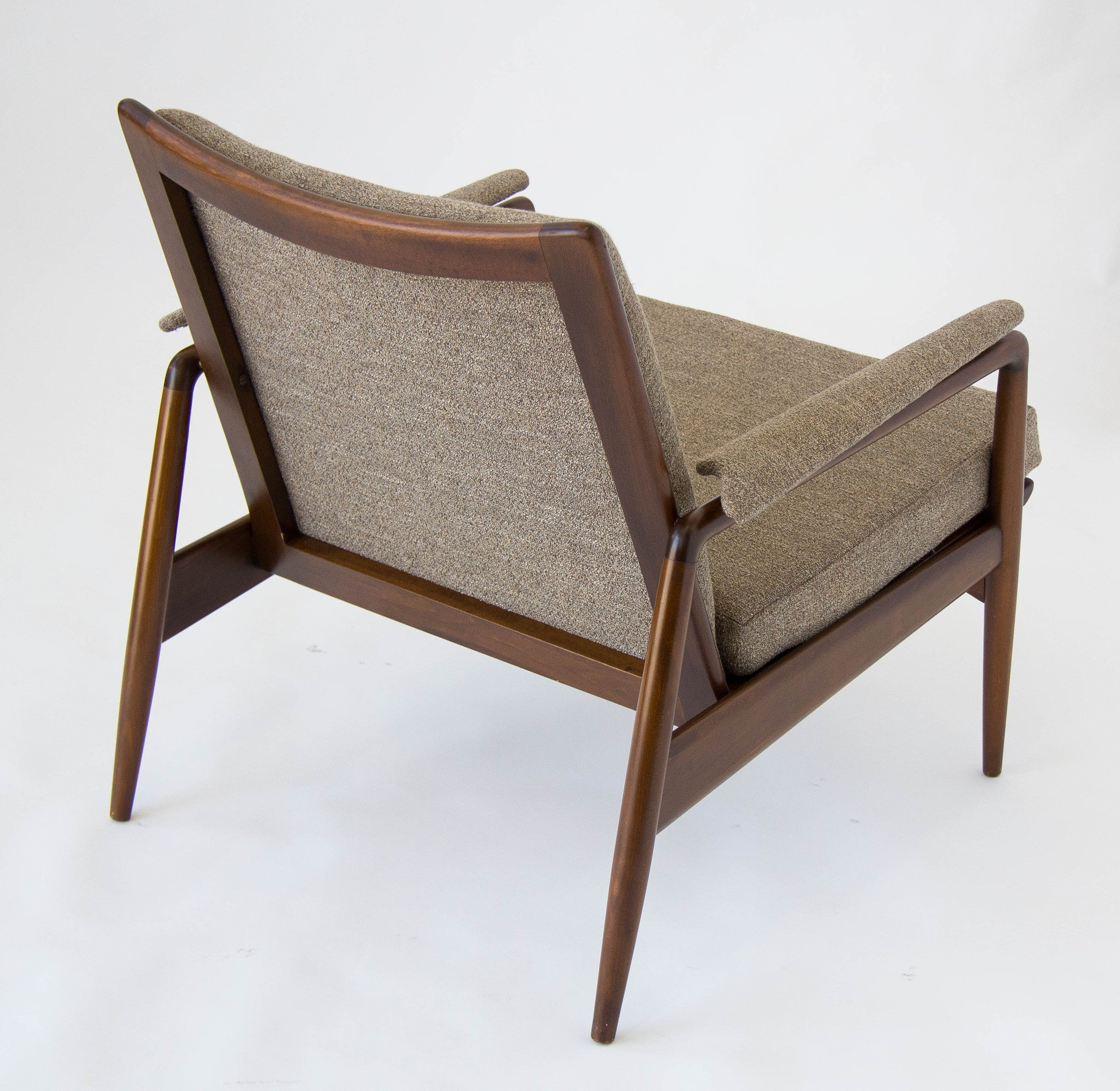 Danish Modern Lounge Chair Imported by Selig – Den M¸bler
