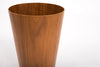 Tall Scandinavian Modern Teak Wastebasket by Rainbow Wood Products