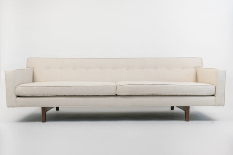 Sofa with Bracket Base by Roger Sprunger for Dunbar