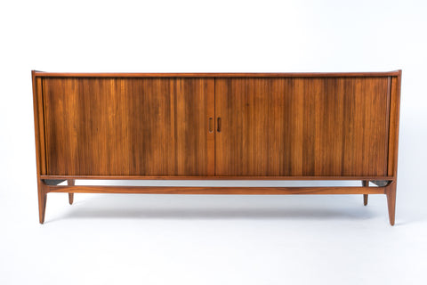 Tambour Door Credenza by Richard Thompson for Glenn of California