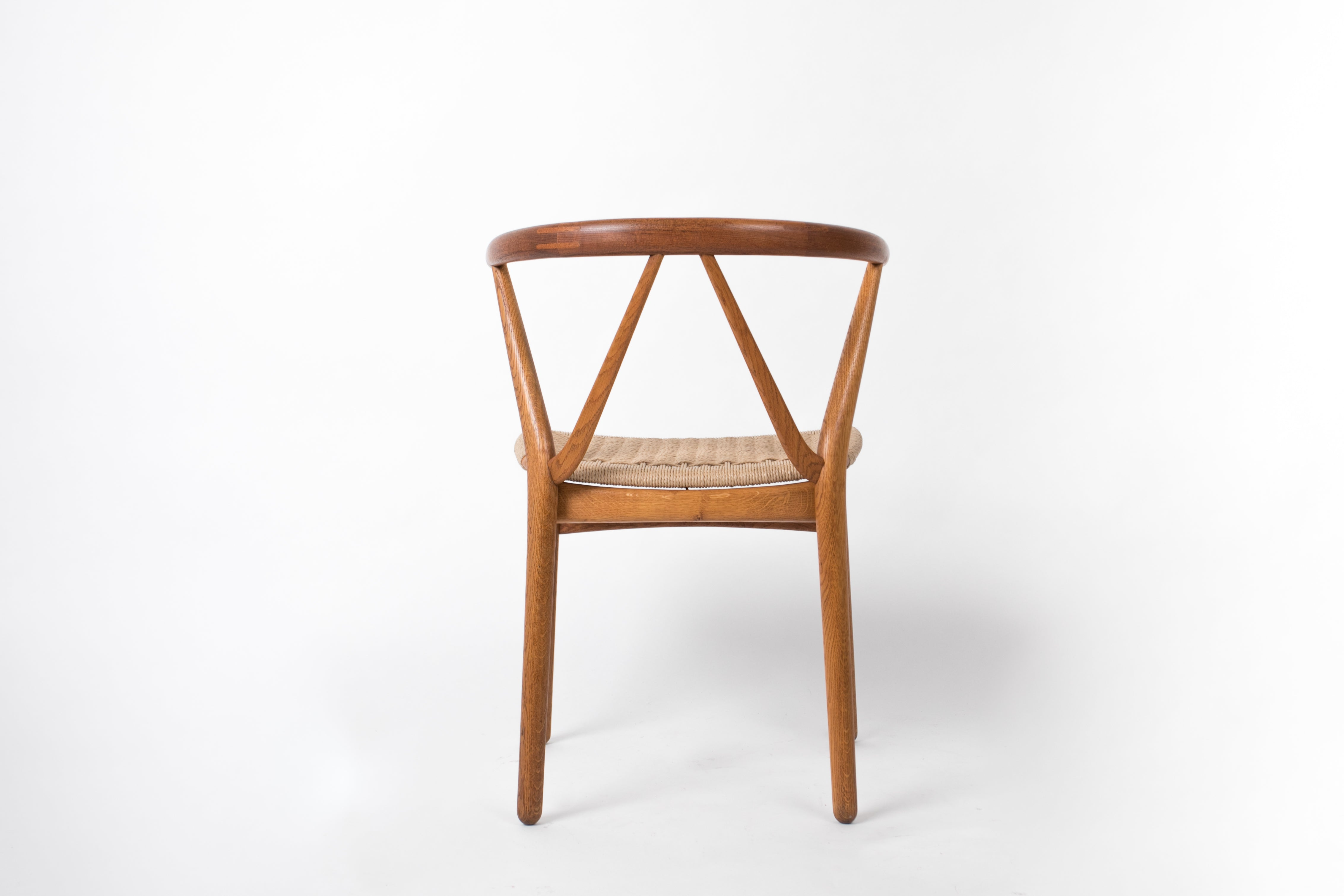 Set of Six Model 225 Teak Dining Chairs by Henning Kj¦rnulf for