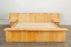 Maple Platform California King Bed with Floating Nightstands by Gerald McCabe