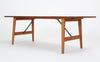 Børge Mogensen Teak and Oak Coffee Table for Fredericia Stolefabrik