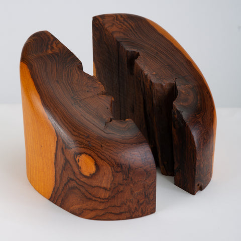 Pair of Bookends with Sapwood Figuring by Don Shoemaker for Señal