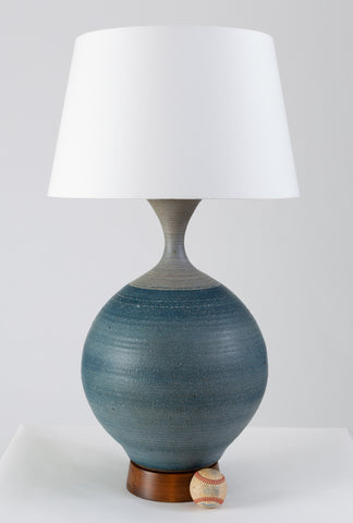 Large Stoneware Lamp by Bob Kinzie for Affiliated Craftsmen