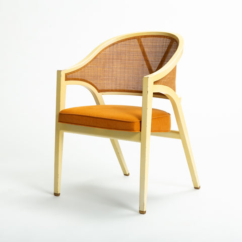 Y-Back Captain Chair by Edwards Wormley for Dunbar