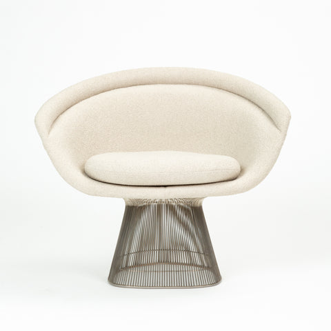 Warren Platner for Knoll Wire Frame Lounge Chair