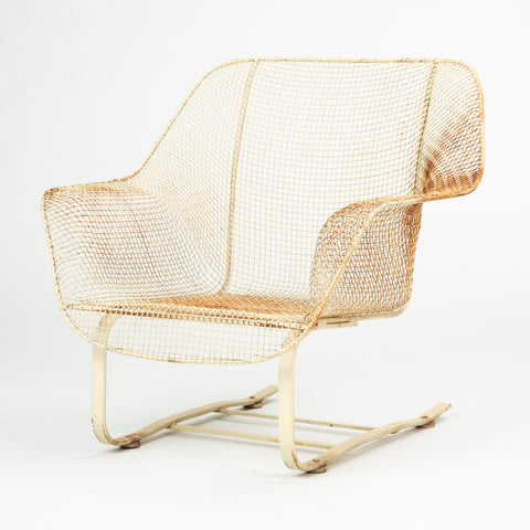 Sculptura Rocking Lounge Chair by Russell Woodard