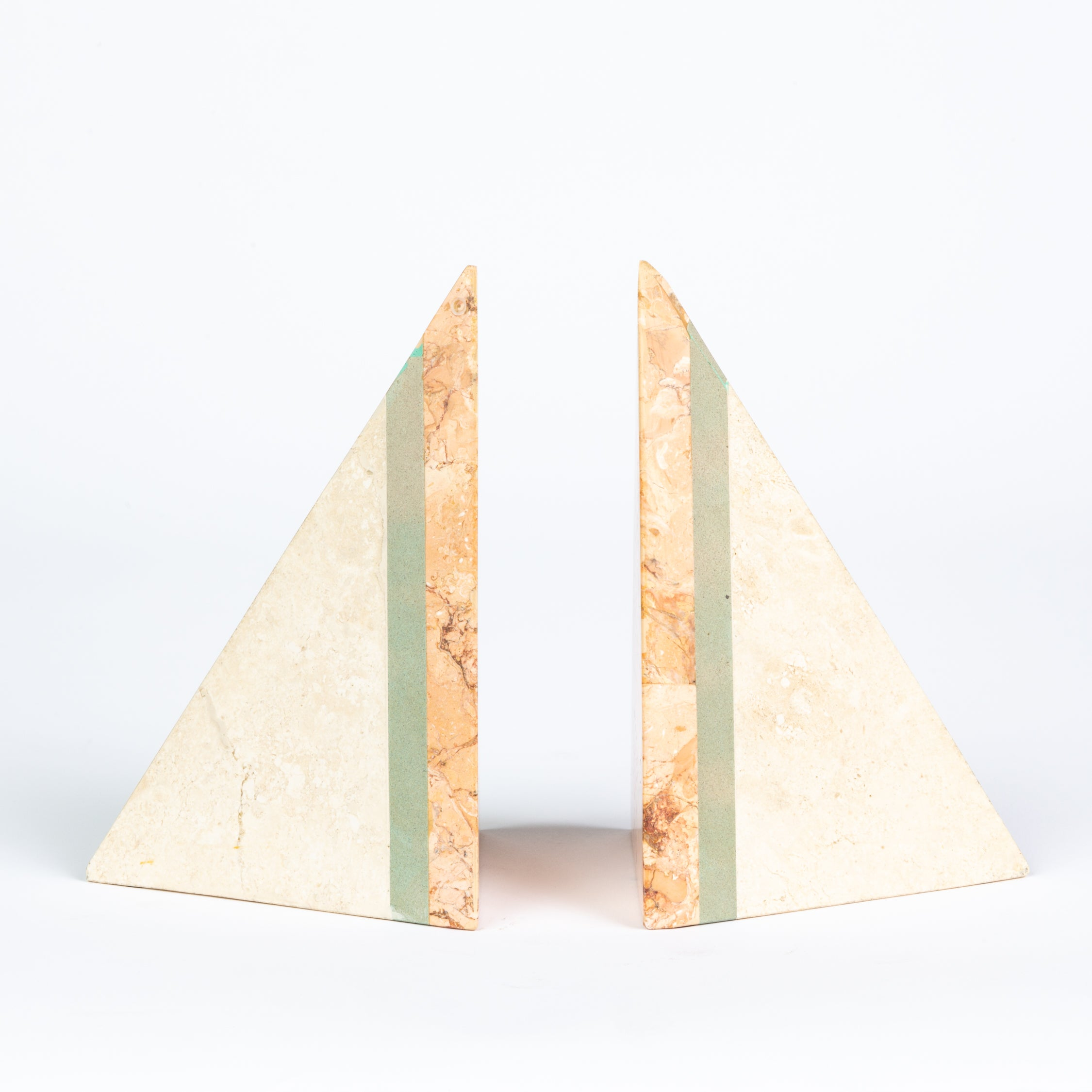Pieced Stone Bookends by Renoir Designs