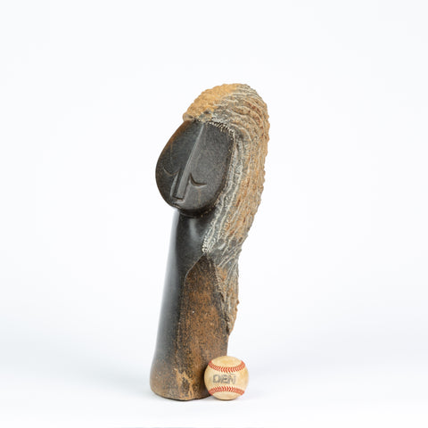 Shona Sculpture of Solitary Figure