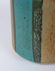 Malcom Leland / David Cressey Flame Glaze Planter for Architectural Pottery - Teal