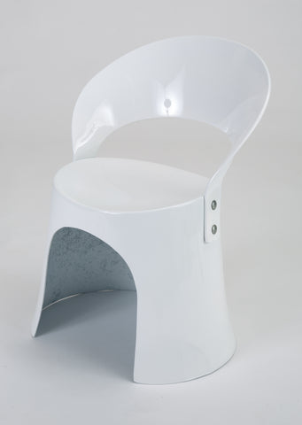 Nanna Ditzel Fiberglass Accent Chair by Odense