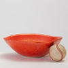 Red Glazed Studio Pottery Bowl
