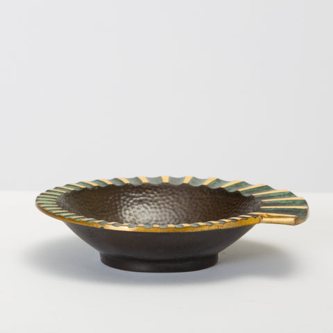 Dayagi Brothers Nautilus Ashtray in Cast Bronze