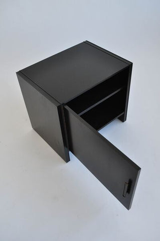 Pair of Ebonized Night Stands by Robert Baron for Glenn of California