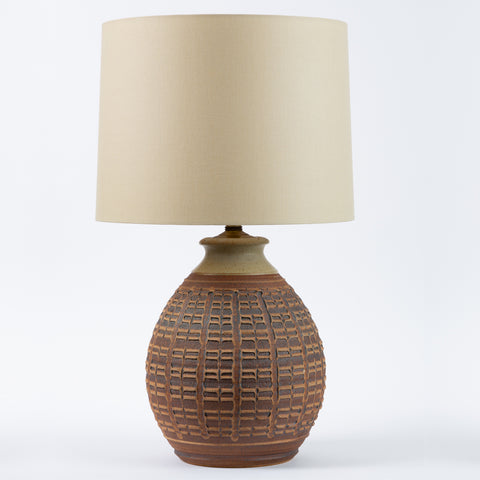 0-Series Stoneware Lamp by Bob Kinzie for Affiliated Craftsmen