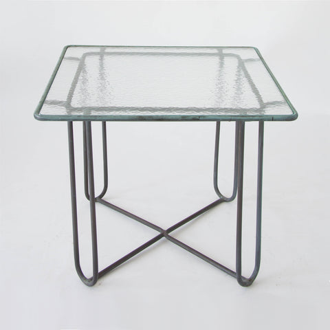Walter Lamb Square Patio Dining Table