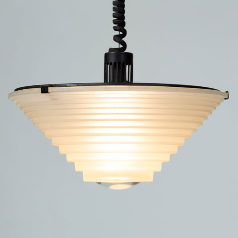 "High Tech ""Egina"" Pendant Lamp by Angelo Mangiarotti"