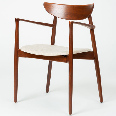 Set of Four Dining Chairs by Harry Østergaard for Randers Møbelfabrik