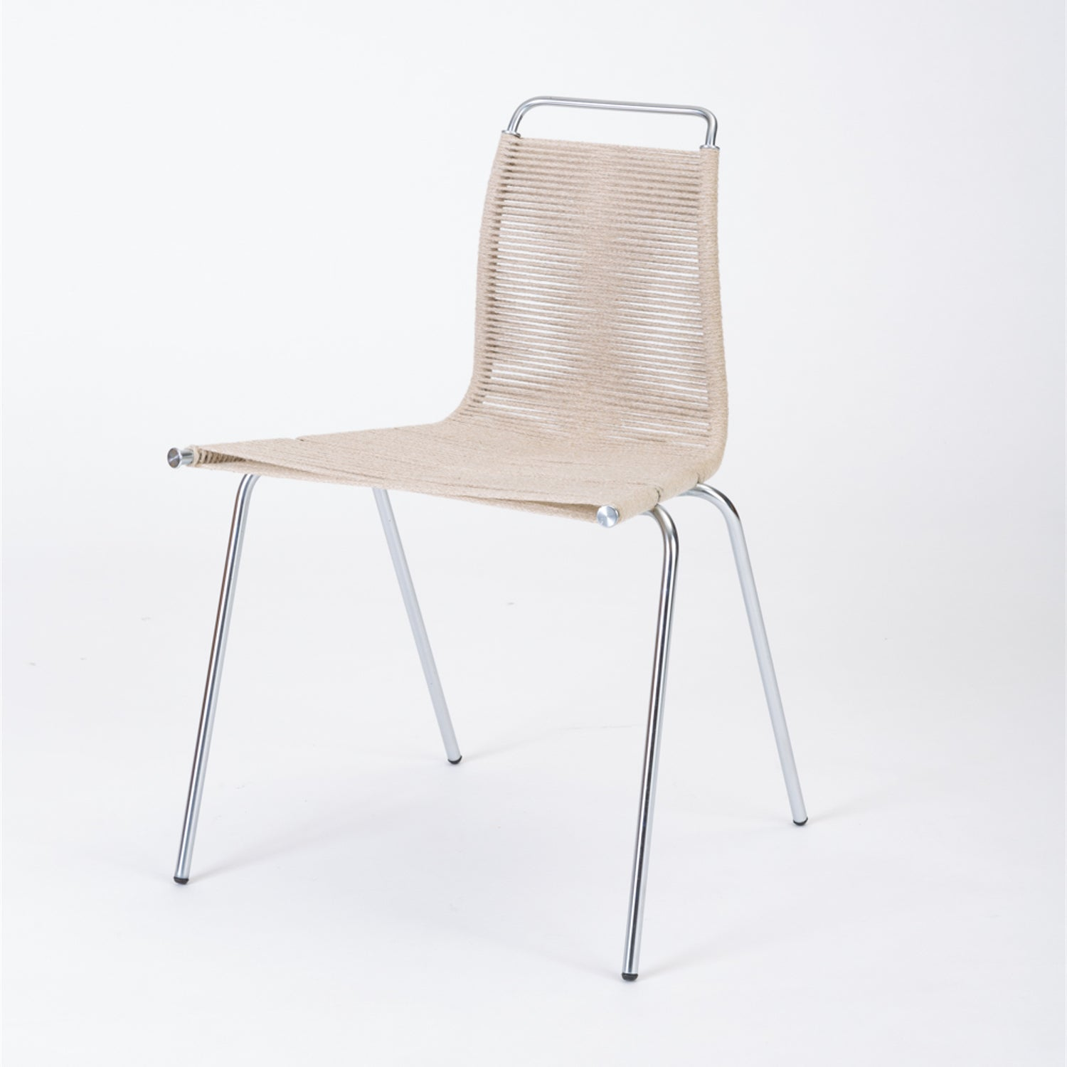 ON HOLD****Single PK-1 Dining or Accent Chair by Poul Kjaerholm for E Kold Christensen