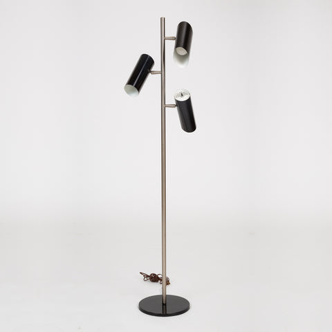 Three-Shade Floor Lamp by Gerald Thurston for Lightolier