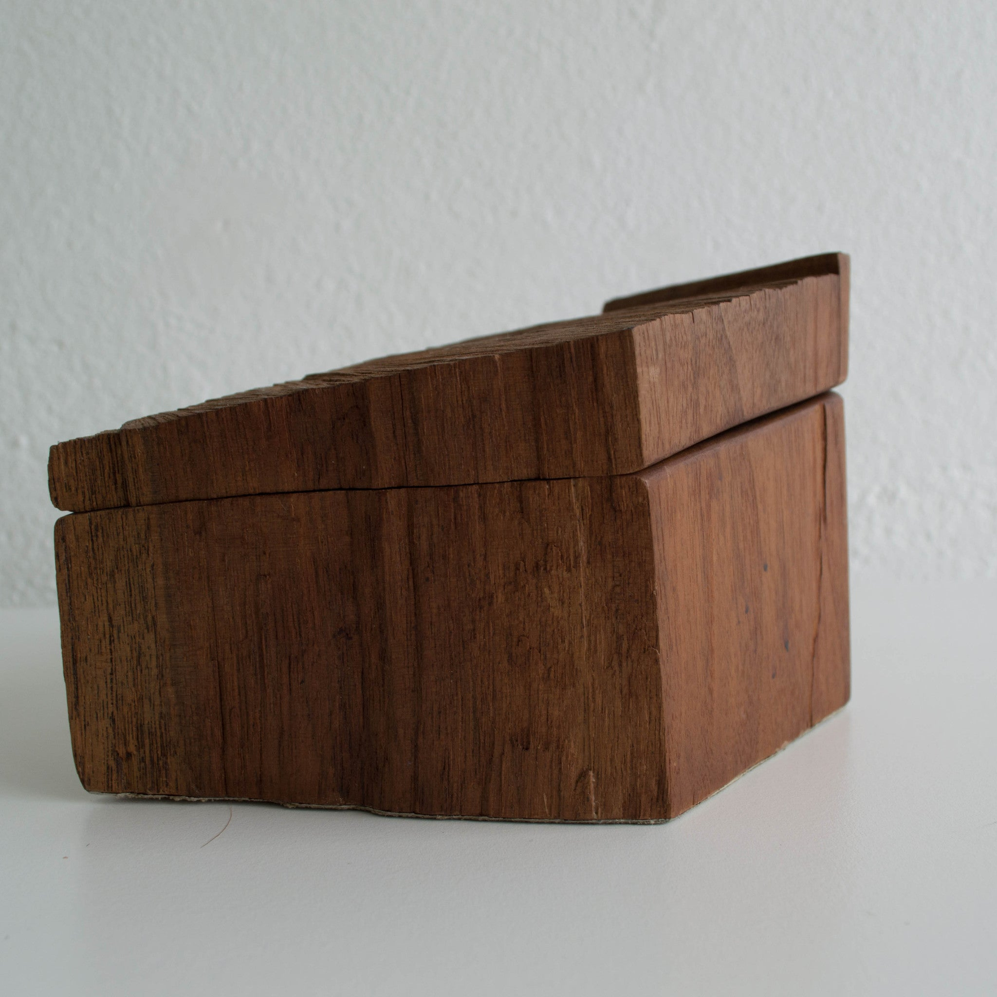 Handcrafted Wooden Live Edge Box