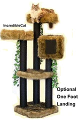 5 Foot Colorado: 2 Luxury Cat Beds & Tree House