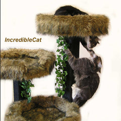 6 Foot Breckenridge: Three Luxury Cat Beds