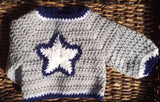 Dallas Cowboys Inspired Sweater