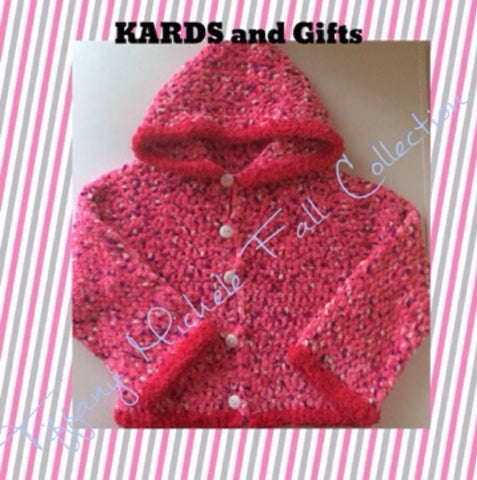 Kids Pink Fleece Like Hoodie - Girls - Size 4/5