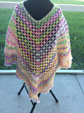 Clearance Colorful Fashion Poncho