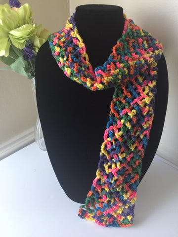 Clearance Kids Fashion Net Scarf - Multi-Color