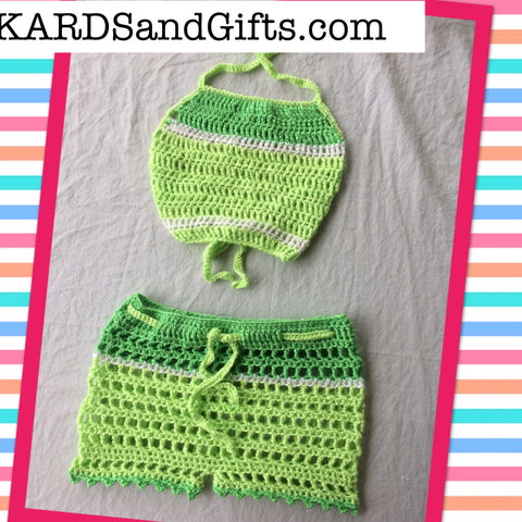 Green Apple Kids Outfit
