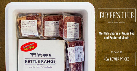 Buyer's Club monthly meat CSA - Grass fed and pastured meats delivered to your door each month