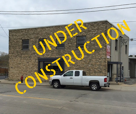 Our new community butcher shop is under construction