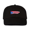 Puerto Rico Hat - Black.