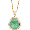 Buddha Rope Chain - Green