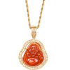 Buddha Rope Chain - Red