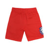 Chenille Patch Shorts - Red
