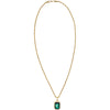 Crystal Rope Chain - Green